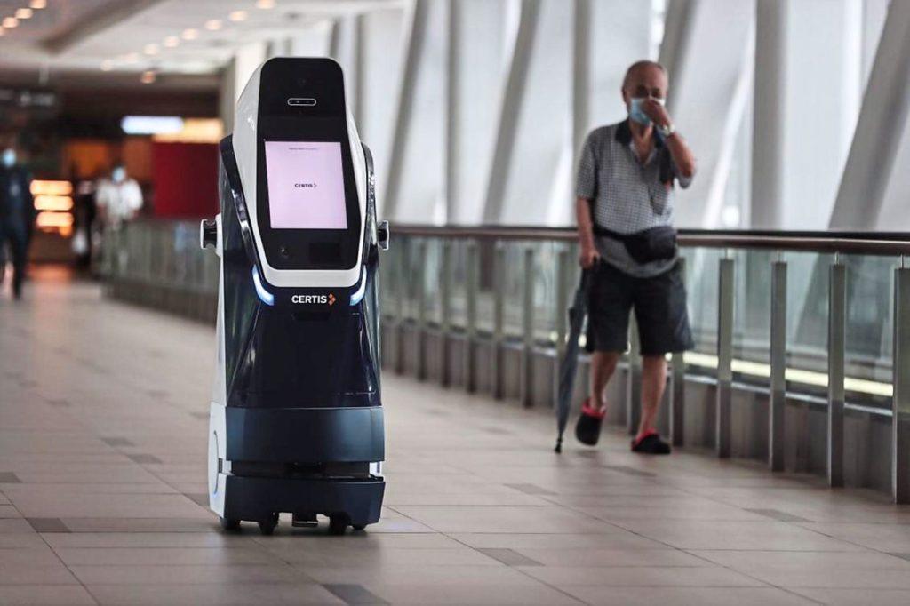 Robot andrew hidayat kpk cegah pandemi